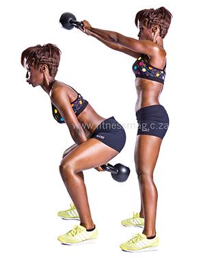 5 weeks to a slim and fit body: Week 1 - Kettlebell swings