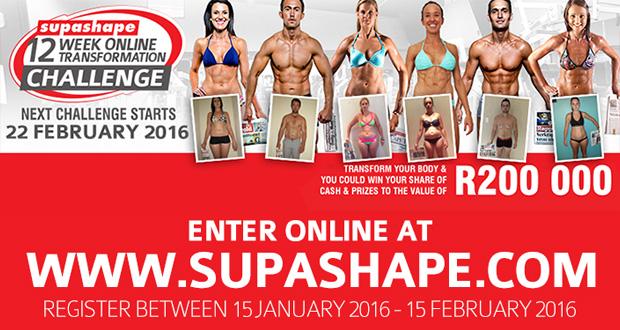 SUPASHAPE 12 Week Challenge