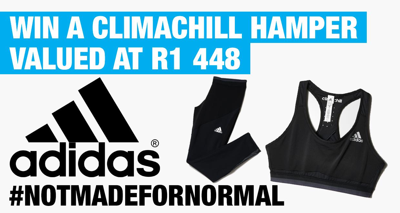 Win an adidas CLIMACHILL Hamper
