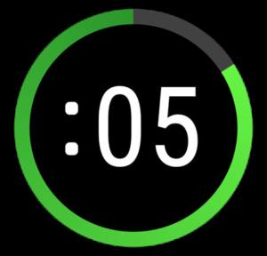 Push Press Timer app icon