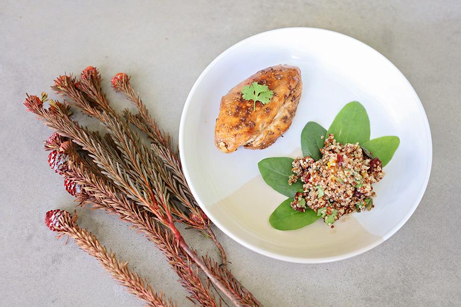 glazed chicken lisa raleigh super scoop